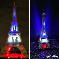LED Light Kit ONLY For Lego 21019 The Eiffel Tower Architecture Lighting Bricks