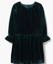 Gymboree Girls Emerald Green Velvet Christmas Holiday Dress Nwt Size 14