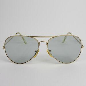 Vintage AMERICAN OPTICAL AO AVIATOR SUNGLASSES golden