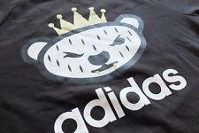 Adidas Originales X Nigo Sudadera Top L Negro Suéter Trébol en muy buena condición