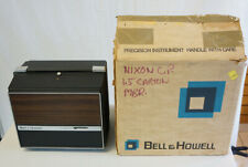 Bell & Howell 481A Super 8 / 8mm Film Dual Movie Projector Works w/ Box  #317
