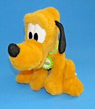 "Mattel Pluto plush toy 10"" w/collar Walt Disney made by ARCO"