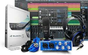 Recording Package Kit Home Studio Full Music Equipment Bundle Software Mixer Mic