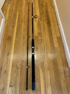 "Shakespeare BWS 1100 10' 0"" Ugly Stik Big Water Spinning Rod, 2-pc MH 12-30 Lb"