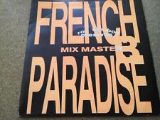 "ROY THE BOY PRESENTS MIX MASTER B French Paradise (1990) (7"")  Rams Horn Records"