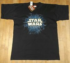 vintage NEW 90s THE PHANTOM MENACE t-shirt STAR WARS size XL new with tags
