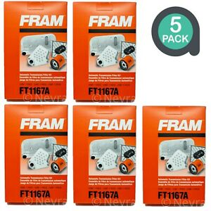 Fram FT1167A Auto Trans Filter Kit - with Ultracork Gasket OEM (Lot of 5)