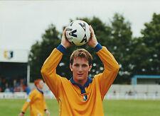 Mansfield Town's Chris Greenacre Hatrick héroe temprano 2000s Original fotografía