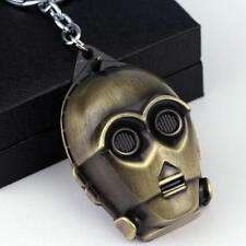 Star Wars C3Po Figurine / Bronze 3d Key chain Cosplay Force collectible