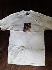 Krux Skateboard Trucks T-Shirt Steve Caballero White Size Medium New