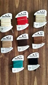 Ultra Suede Embroidery Thread by Rainbow Gallery  Choose Your Color