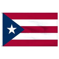 3x5 Puerto Rico Polyester Flag Premium Banner Grommets FAST USA SHIPPING