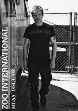 ZOO INTERNATIONAL Newspaper MUSIC ISS 2008 BILLY IDOL Mick Jagger THE KILLS @New