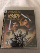 Star Wars: The Clone Wars - Republic Heroes (Sony PlayStation 3, 2009) BRAND NEW
