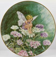 Heinrich Villeroy & Boch Cicely Mary Barker Flower Fairy Plate Candytuft Fairy