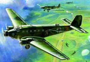Zvezda Junkers JU-52 German Transport Plane 1/200 4600327061393