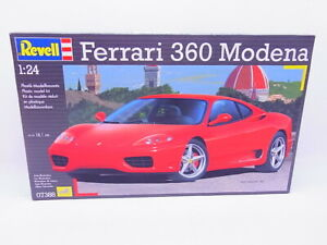 81607 revell 07388 Ferrari 360 Modena 1:24 Kit Model Car Unbuilt Boxed
