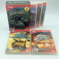 Lot of 5 Pop Can Escape and Amazing Adventures PC MAC CD-ROM Games NEW & USED