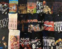 Vintage Style Music Rap Rock Tour Concert Band Reseller Lot Of 20 Mix SZS Retro