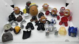 Mini Mr Potato Head Marvel Avengers Star Wars Mixable Mashable Heroes Pieces Lot