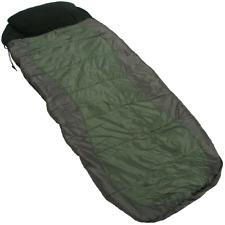 Carp Fishing 4 Season Bedchair Micro Fibre Two layer Sleeping Bag + Case NGT New