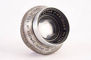 Kodak Projection Ektar 100mm f/4.5 Projection Lens with Retaining Ring V18