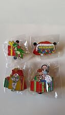Disney Toys For Tots Toy Story pin set of 4 Woody Rex Soda Fountain DSSH LE 500
