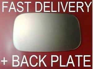 FITS LOTUS ELISE 1996-2006 DOOR WING MIRROR GLASS FLAT + PLATE RIGHT OR LEFT