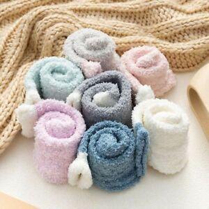 Womens Winter Heart Warm Bed Cosy Lounge Soft Floor Fluffy Socks Decor 4/8 Pairs