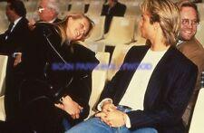 DAVID HALLYDAY 90s DIAPOSITIVE DE PRESSE ORIGINAL VINTAGE SLIDE #15