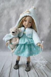 """Christmas outfit FOR dolls by Dianna Effner Little Darling  13""""  and toys"""