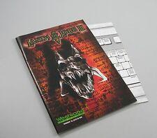 Manual original instrucciones manual a Lands of Lore 3 III en alemán PC