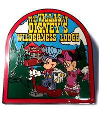 Wilderness Lodge Villas Disney Vacation Club 2001 Mickey Rail Road Clothes Pin