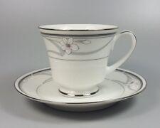 NORITAKE LEGENDARY NEW DESTINY 3687 TEA CUP AND SAUCER (PERFECT)