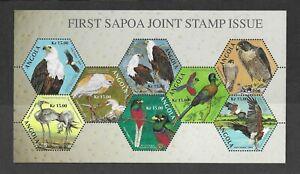 Angola 2004 SAPOA BIRD SHEET