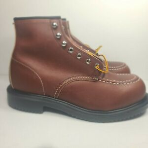 Red Wing Shoes Oil Resistant Long Wear Boots 8249 US MENS 9 EEE (check pic)