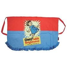Omo Adds Brightness OFFICIAL Kitchen Pinny Apron Retro Vintgage BBQ
