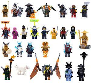 Lego Ninjago Minifigures NEW 70666 70671 70677 70678 71019 71708 70653 70655