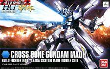 Cross Bone Gundam Maoh HGBF Gundam Build Fighters 1/144 Model Bandai Japan