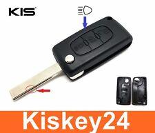 3Tasten Schlüssel Klappschüssel für Citroen C4 Picasso C5 C8 Dispatch Jumpy