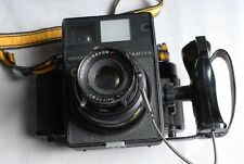Mamiya Universal Film Camera with 127mm Lens & Back (Black)