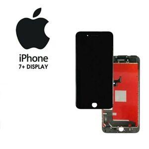  DISPLAY APPLE IPHONE 7 PLUS NERO ORIGINALE RIGENERATO SCHERMO LCD RETINA 