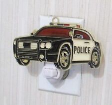 POLICE CAR NIGHTLIGHT (COP CAR SUNCATCHER LIGHT)