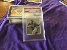 1948 Bowman #14 Frank Seno PSA 8 NMMT. BOSTON YANKS Rookie Card