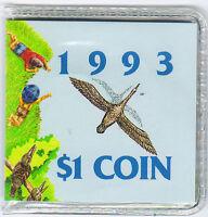 1993 RAM $1 UNC Landcare 'C' Mintmark
