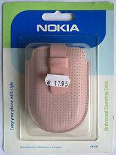 ORIGINALE Nokia Universal Carrying Case cp-145 Rosa Borsa Nokia