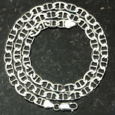 "MARINER 150-20"" 6mm Heavy 20.5 Gram Italian Link .925 Sterling Silver Chain 20"""