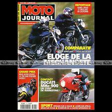 MOTO JOURNAL N°1453 CAGIVA 650 RAPTOR, HONDA CB 600 HORNET YAMAHA YZF 660 R 2001
