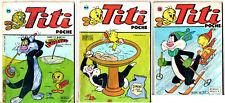 LOT BD 3 TITI POCHE n°75-83-96 ¤ SAGEDITION