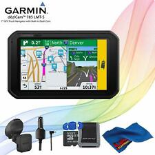 Garmin dezlCam 785 Lmt-S Advanced Gps for Trucks + Memory Card Kitng Cloth